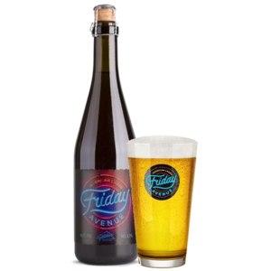 Пиво Friday Avenue светлое 4,7% фото