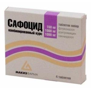 Набор таблеток  Сафоцид фото