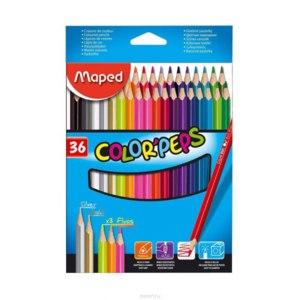 Цветные карандаши MAPED Color'Peps 36 цветов фото