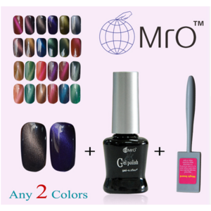 Гель лак Aliexpress MRO 2 pieces/lot with a magnet for gel nail polish sets of gel varnish gel lucky nail glue lacquers esmalte vernis a ongle art фото
