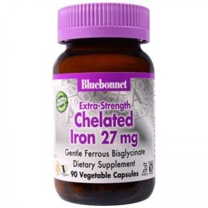 БАД железо Bluebonnet Nutrition Chelated Iron фото