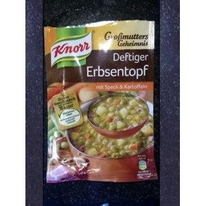 Супы быстрого приготовления Knorr Erbsentopf mit Speck Kartofeln фото