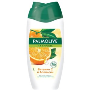 Крем-гель для душа Palmolive с увлажняющим молочком Витамин C и Апельсин фото