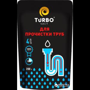 Гранулы Turbo для прочистки канализационных труб фото
