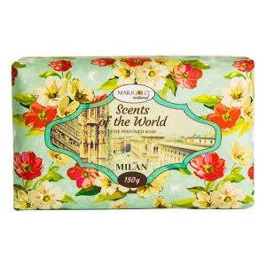 """Мыло Marigold Natural натуральное парфюмированное Scents of the World  """"Milan"""" фото"""