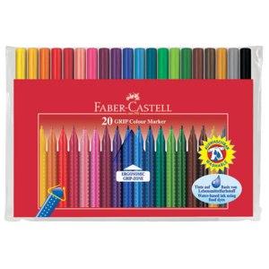 Фломастеры Faber-Castell GRIP Colour Marker фото