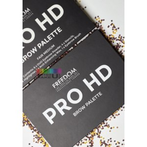 Набор для коррекции бровей Freedom Pro HD brow palette фото