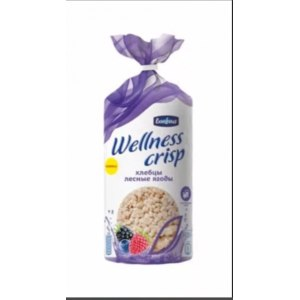 Хлебцы Bonfour Wellness Crisp Лесные ягоды фото