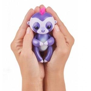 Игрушки Wow Wee Fingerlings интерактивный ручной ленивец Мардж фото