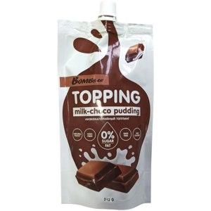 Топпинг Bombbar Молочно-шоколадный пудинг фото