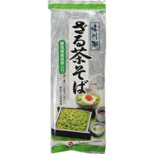 Лапша Shigeno Соба гречневая с зеленым чаем DR-4045 фото