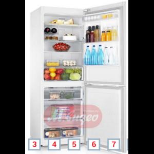 Двухкамерный холодильник Samsung RB29FERNDWW фото