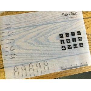 Силиконовый коврик для дизайна ногтей Aliexpress Professional Nail Art Work Space Mat Nail Stamp Stamping Plate Vinyls Water Marble Maker Silicon Table Cover Protector Fairy MAT фото