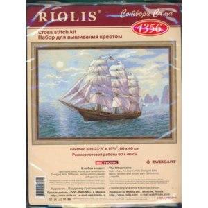 """Набор для вышивания крестом Riolis """"Корабль"""". Артикул: 1356 фото"""