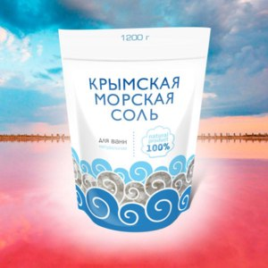 Соль для ванн Крымская морская Натуральная фото