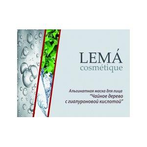 Альгинатная маска LEMA cosmetique Чайное дерево с гиалуроновой кислотой фото