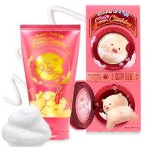 Пенка для умывания Elizavecca Piggi Pink Energy Foam Cleansing фото