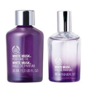 The body shop White musk  фото
