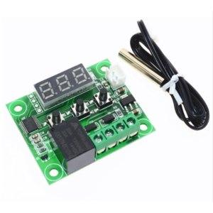 Терморегулятор Aliexpress  W1209 W1209-DC-12V-heat-cool-temp-thermostat-temperature-control-switch-temperature-controller-thermometer-thermo-controller фото