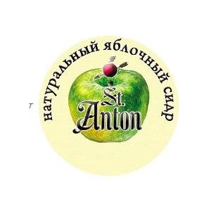 Слабоалкогольный напиток Яблочный спас Сидр разливной St. Anthon фото