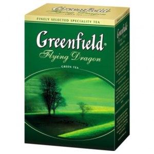 Чай листовой Greenfield зелёный фото