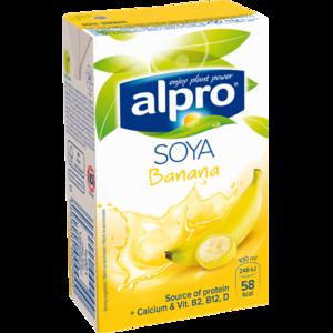 Соевое молоко Alpro Soya Banana фото