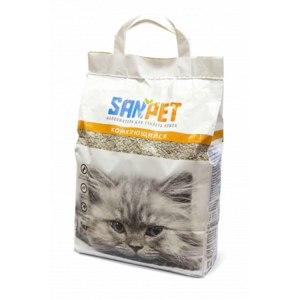 Наполнитель для кошачьего туалета San Pet комкующийся фото