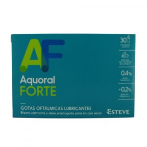 Капли для глаз ESTEVE Aquoral Forte фото
