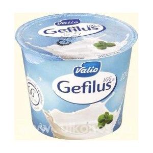 Йогурт Valio Gefilus натуральный без наполнителей 2,5% фото
