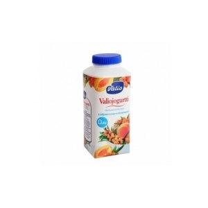 Йогурт питьевой Valio с абрикосом и облепихой фото