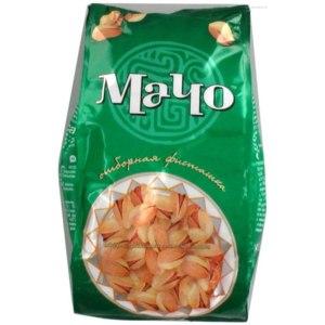 Орехи Macho Фисташки жареные соленые. фото