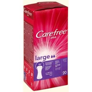Прокладки ежедневные Carefree plus large фото