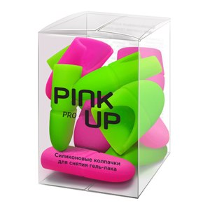 Силиконовые колпачки для снятия гель-лака Pink Up Pro фото
