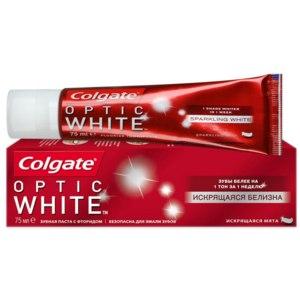 Зубная паста Colgate Optic White Искрящаяся белизна фото