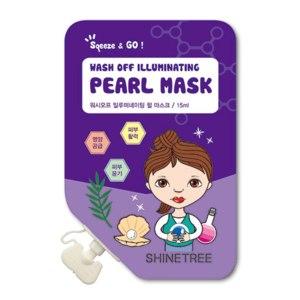 Маска для лица Shinetree Wash off Illuminating Pearl mask фото