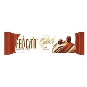 Молочный шоколад Felicita Gelato Caffe a Letto с начинкой сливочно-кофейного мороженого фото