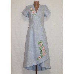 Платье ЭТНОХАТА «Цвет шиповника» фото