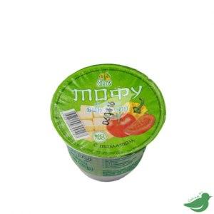Соевые продукты Боб и соя Тофу по-русски с томатом фото