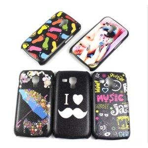 Чехол для мобильного телефона Ebay Graffiti Artistic Colors Black Hard Case Cover For Samsung Galaxy S Duos S7562 фото