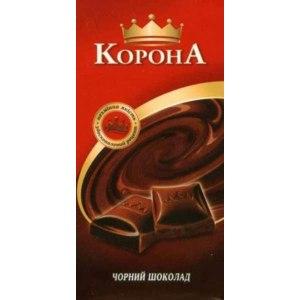 Шоколад Корона черный фото
