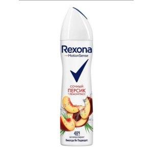 Дезодорант-антиперспирант Rexona Сочный персик и лемонграсс Аэрозоль фото