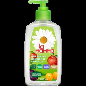 Жидкость La mamma для мытья овощей и фруктов фото