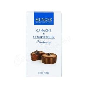 Шоколад D.Munger  Ганаш с коньяком и черникой. фото