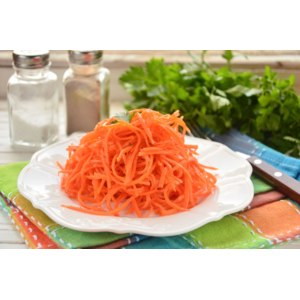 Готовые блюда Шеф Перекресток Салат из моркови по-корейски фото