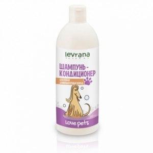 Шампунь-кондиционер Levrana для собак длинношерстных пород фото