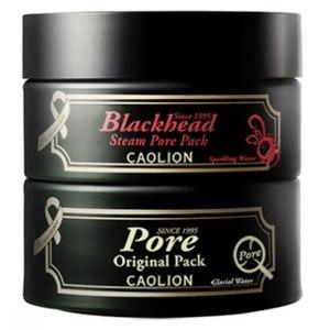 Разогревающая маска для очищения пор и оригинальная маска для очищения пор Caolion (Дуэт) / Premium Hot & Cool Pore Pack Duo / фото