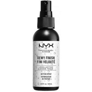 Фиксирующий спрей для макияжа NYX Dewy Finish фото