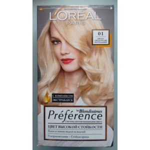 Краска для волос L'Oreal Paris Preference les Blondissimes фото