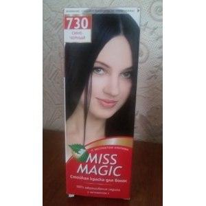 Краска для волос MISS MAGIC Стойкая с экстрактом крапивы и витамином F фото