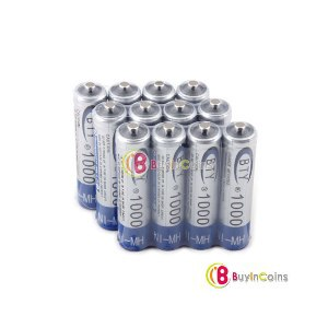 Аккумуляторы Buyincoins BTY Home Ni-MH AAA 1000mAh 1.2V Rechargeable Battery 12pcs фото